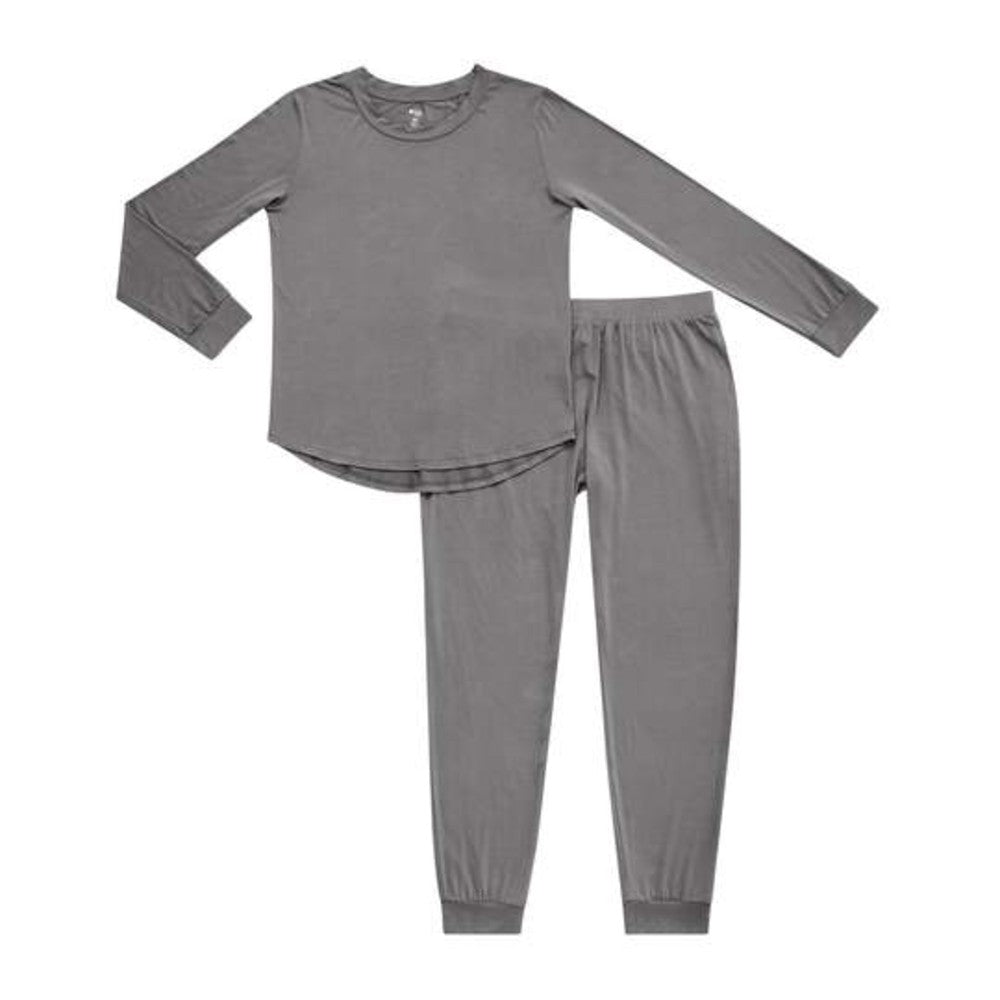 Women's Jogger Pajama Set - Charcoal
