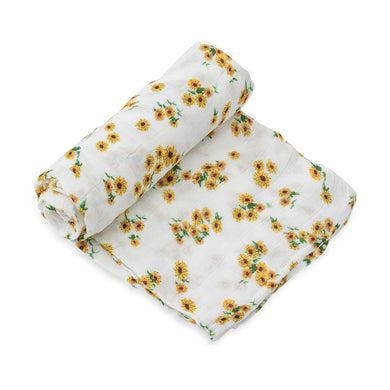 Cotton Muslin Swaddle - Sunflower