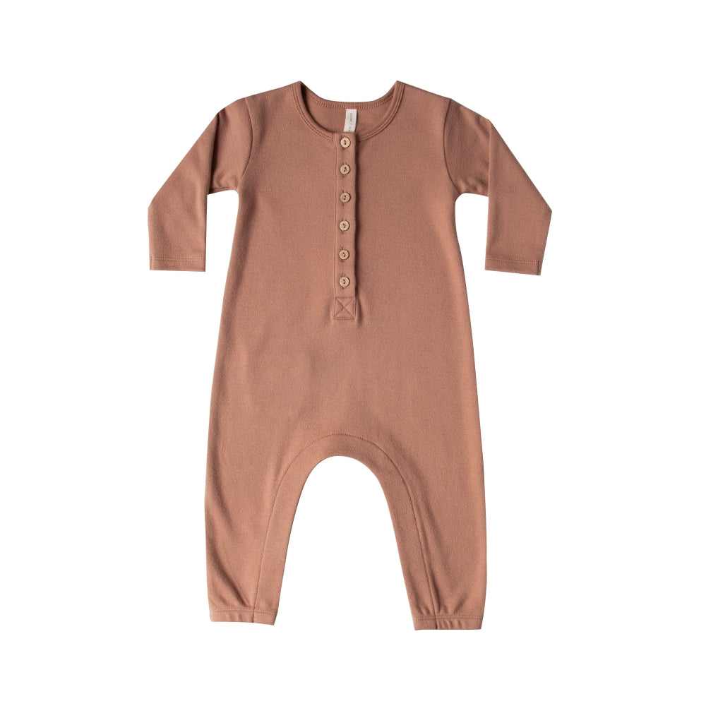 Longsleeve Jumpsuit - Clay
