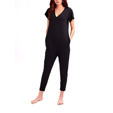 Sunday Romper - Midnight Black