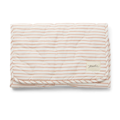 Travel Change Pad - Petal Stripe