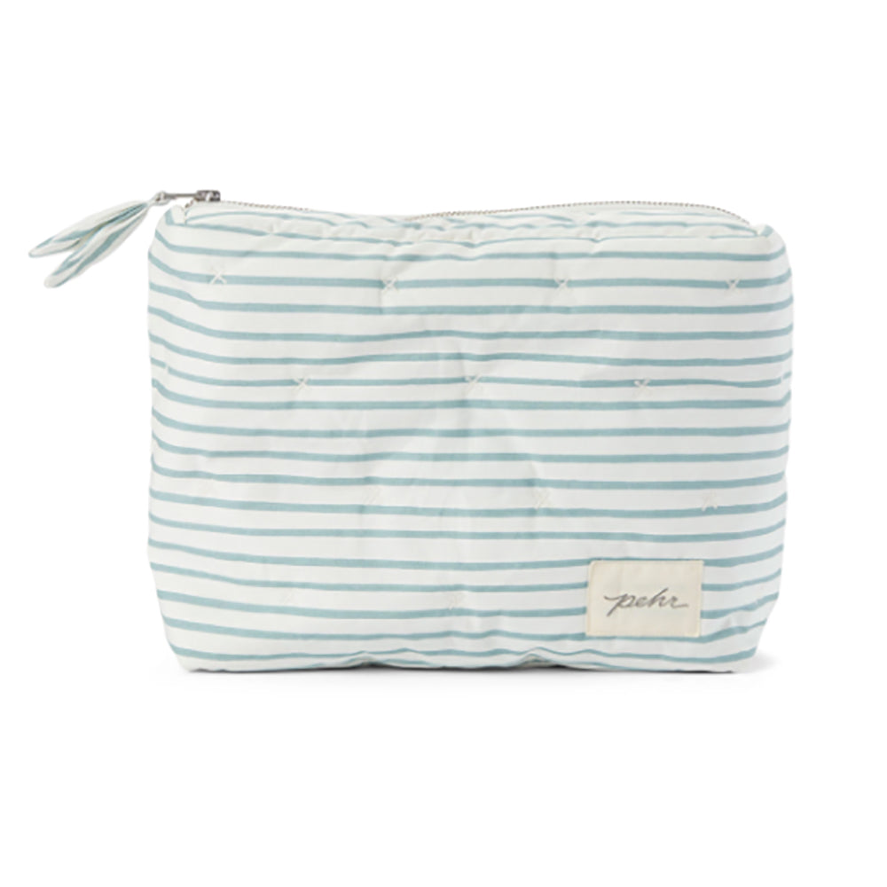 Travel Pouch - Deep Sea Stripe