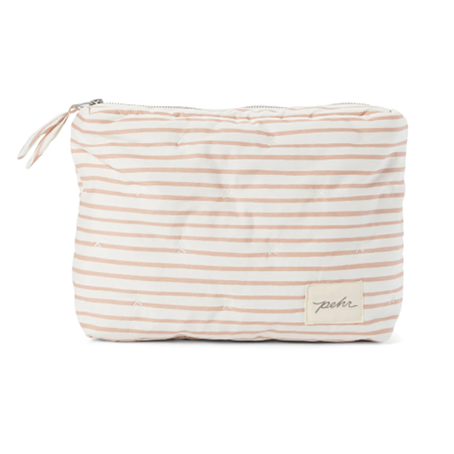 Travel Pouch - Petal Stripe