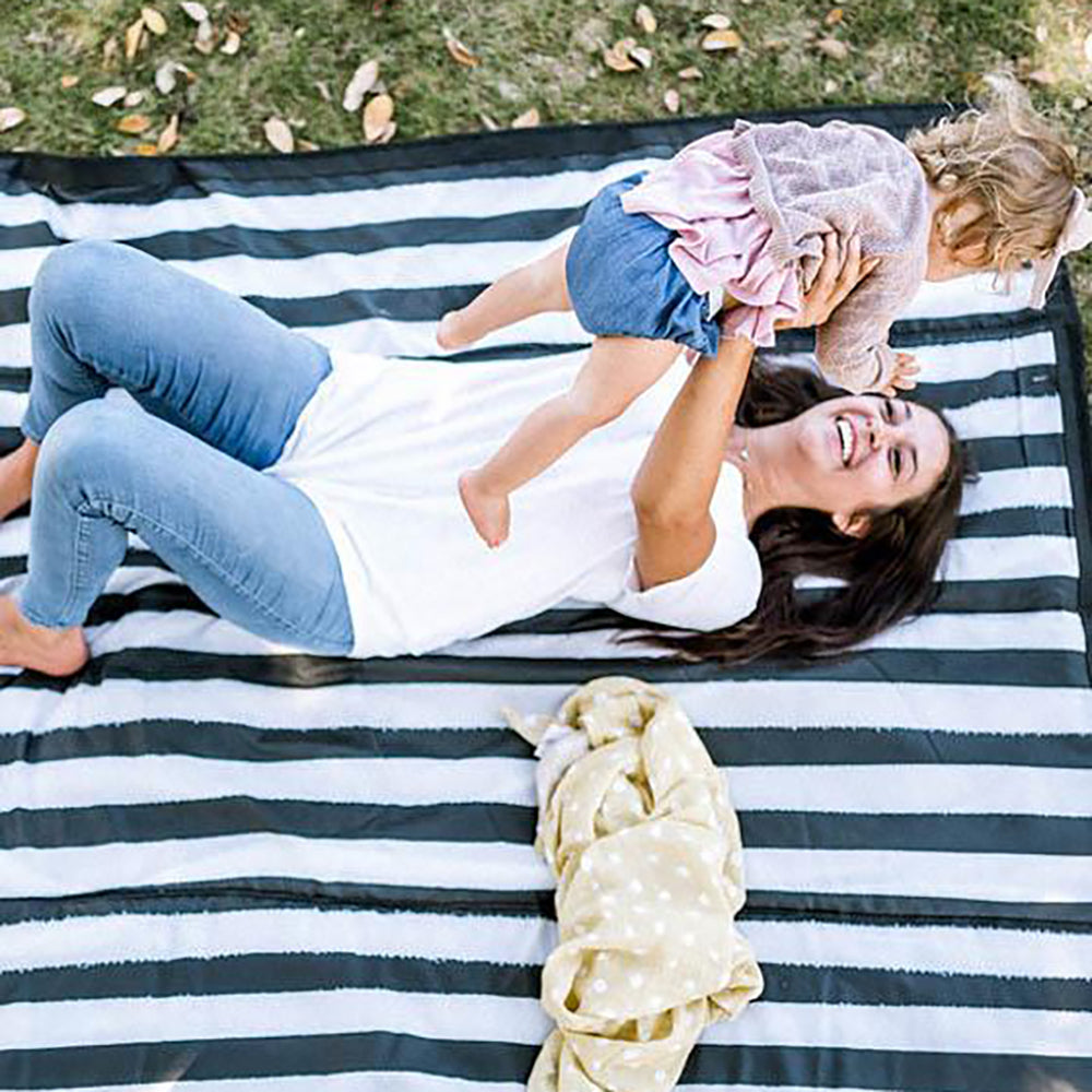 Outdoor Blanket + Play Mat - Stripe
