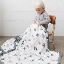 Cotton Muslin Big Kid Quilt - Prickle Pots
