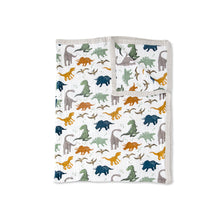 Cotton Muslin Big Kid Quilt - Dino Friends