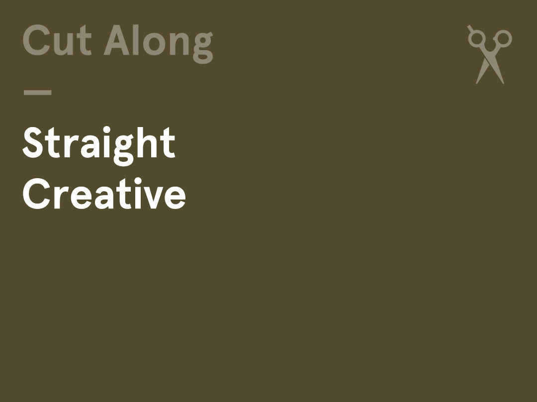 Interactive Cut-Along – (Wednesday am) – Straight / Creative