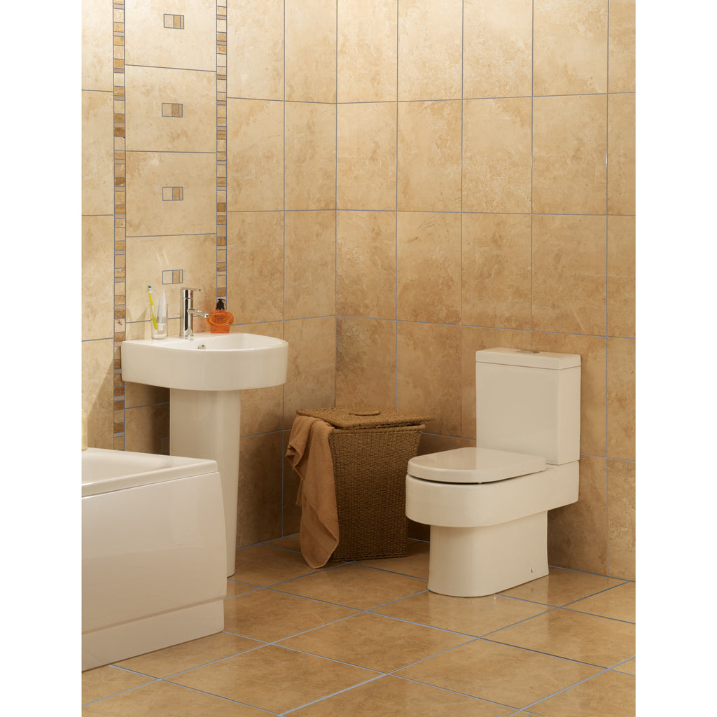 Cappuccino bathroom tiles - Images 1 2