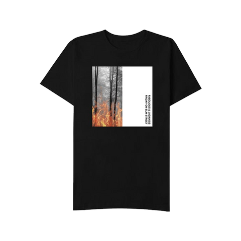 Album Art T-Shirt Black