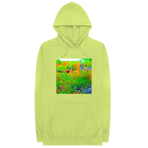 Trip Out Now Green Hoodie