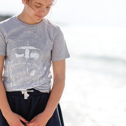 Kinder T-Shirt Grey Sailor | ankerherz.de