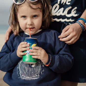 "Kinder Sweatshirt ""BLUE SAILOR"""