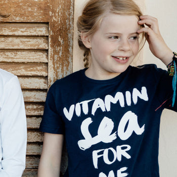 "Kinder T-Shirt ""Vitamin Sea for me"" 