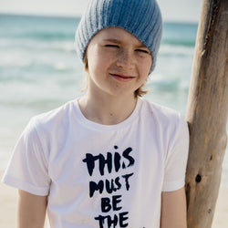 "Kinder T-Shirt ""This must be the place"" 