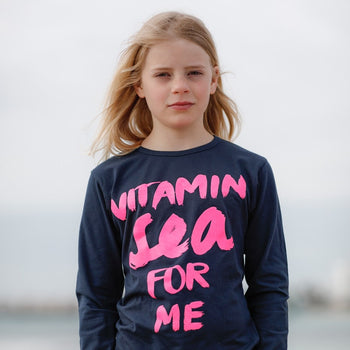 Longsleeve Vitamin Sea for me neon