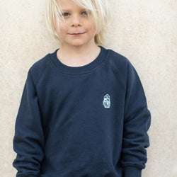 Kinder Sweatshirt MINI SEEMANN navy | ankerherz.de