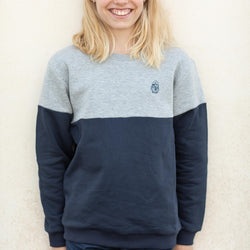 Kinder Sweatshirt BICOLOR MINI SEEMANN | ankerherz.de