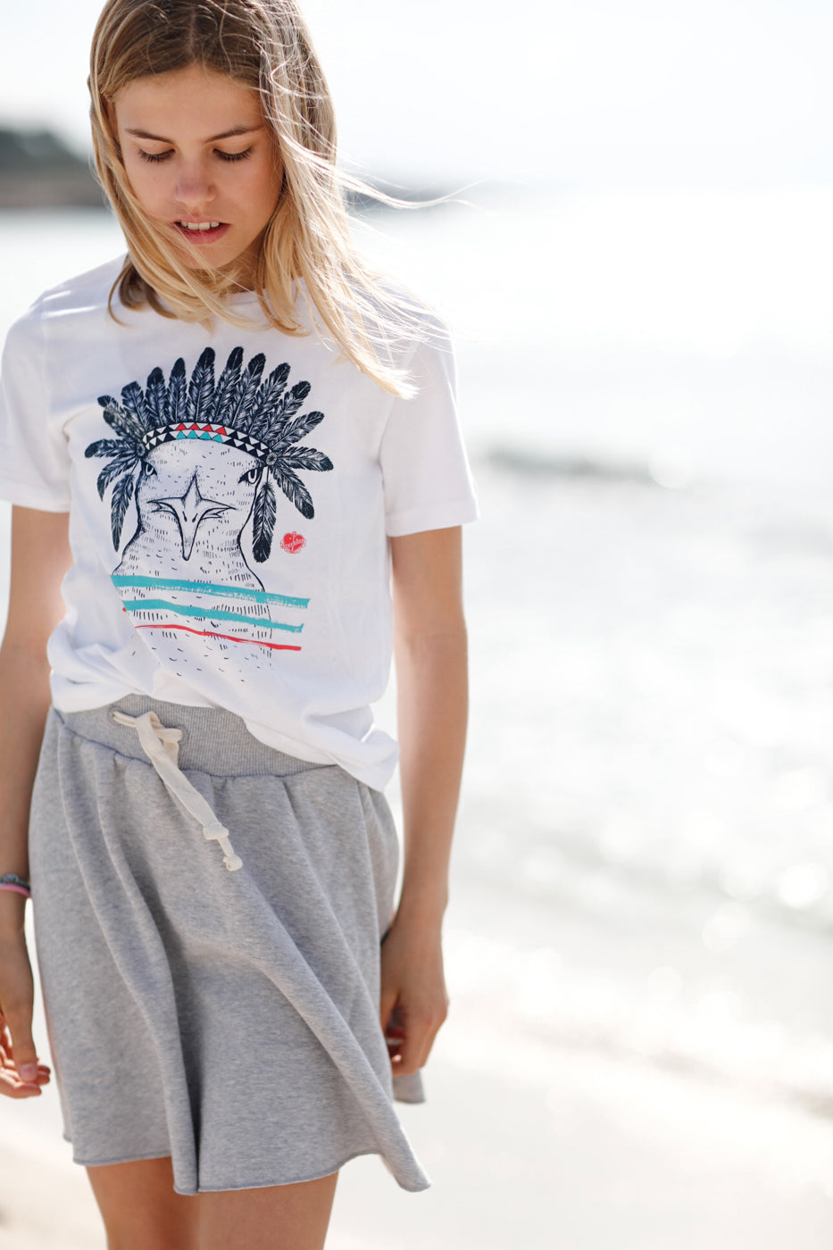 Kinder T-Shirt Indian Seagull auf | ankerherz.de