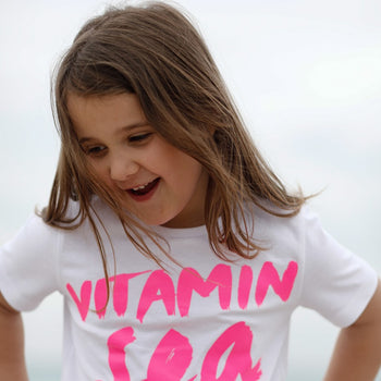 T-Shirt Vitamin Sea for me neon