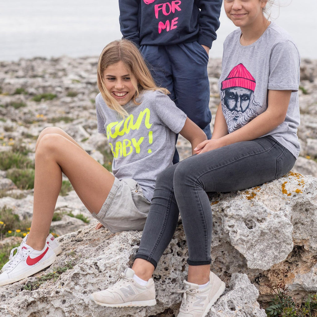 Kinder T-Shirt VITAMIN SEA FOR ME neongelb | ankerherz.de