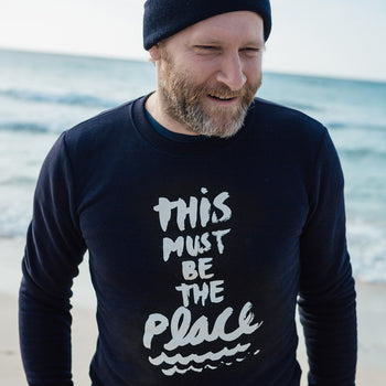 "Longsleeve ""This must be the place"""