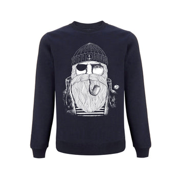 Kinder Sweatshirt BLUE SAILOR auf | ankerherz.de