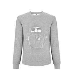 Kinder Sweatshirt GREY SAILOR | ankerherz.de