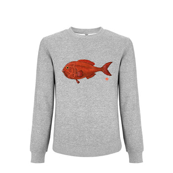 "Sweatshirt ""Red Roughy"" 