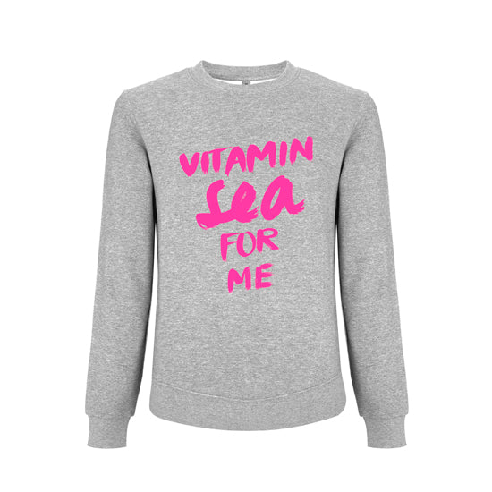 Sweatshirt VITAMIN SEA FOR ME neon | ankerherz.de