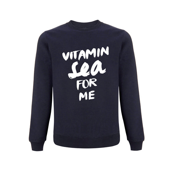 "Sweatshirt ""Vitamin Sea for me"" 