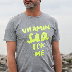 T-Shirt VITAMIN SEA FOR ME neon | ankerherz.de