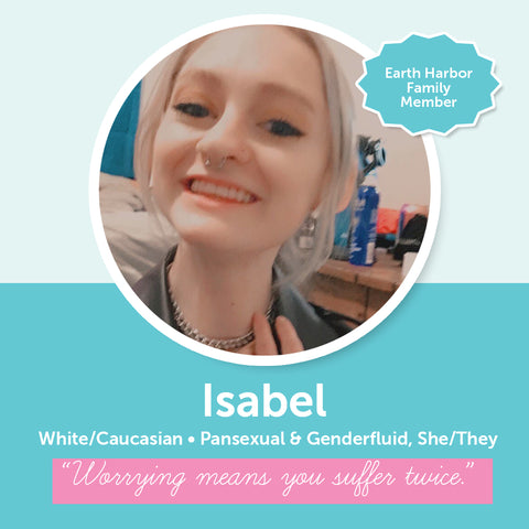 Earth Harbor Diversity, Inclusion, and Equity Council Member Isabel