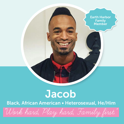 Earth Harbor Diversity, Inclusion, and Equity Council Member Jacob