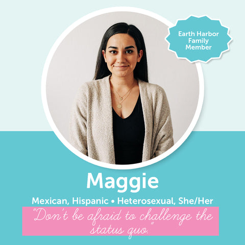 Earth Harbor Diversity Inclusion & Equity Council Member Maggie