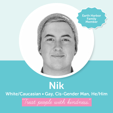 Earth Harbor Diversity, Inclusion, and Equity Council Member Nik