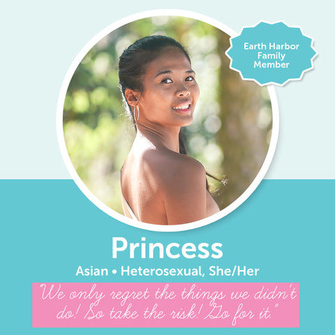 Earth Harbor Diversity, Inclusion, and Equity Council Member Princess