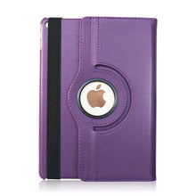 Load image into Gallery viewer, iPad (5th Gen) Rotating Flip Leather Case