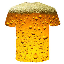 Load image into Gallery viewer, Beer Print Men's T-shirt
