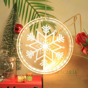 Christmas 3D Hanging Lamp