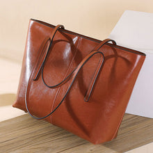 Load image into Gallery viewer, Womens Leather Tote Bag
