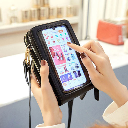 Touchable Smartphone Change Bag