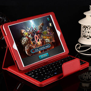 iPad (7th Gen) Bluetooth Keyboard Leather Case