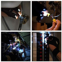 Load image into Gallery viewer, LED Gloves with Waterproof Lights