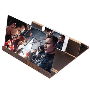 Foldable Smartphone Screen Amplifier