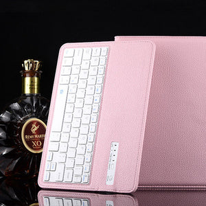 "iPad Pro 10.5"" Bluetooth Keyboard Leather Case"