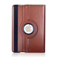 "Load image into Gallery viewer, iPad Pro (1st/2nd) 12.9"" Rotating Flip Leather Case"