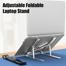 Load image into Gallery viewer, Adjustable Foldable Laptop Stand - [NEW 2020]