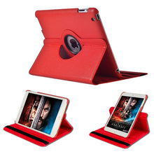 "Load image into Gallery viewer, iPad Pro (3rd Gen) 12.9"" Rotating Flip Leather Case"