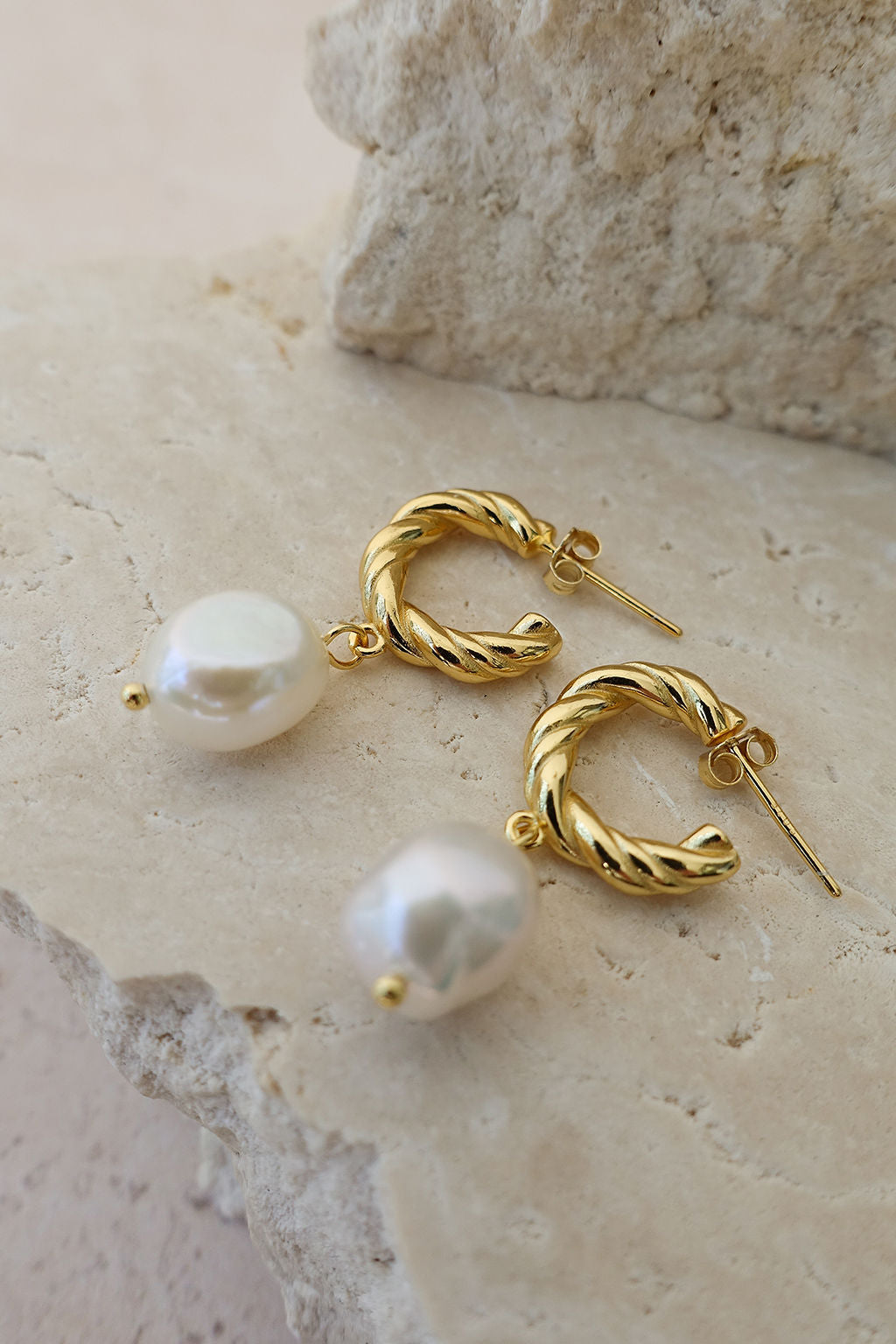 18k Gold Plated Freshwater Pearl Earrings. These earrings are the perfect occasion staple. Dress them up or dress them down. By Boehm has a huge range of earrings for any occasion. @byboehm www.boehmintimates.com