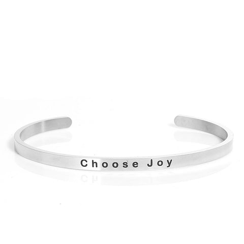 Choose Joy Cuff Bracelet